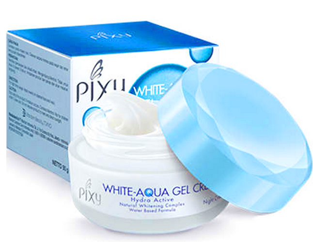 White-Aqua Gel Cream Night Cream yang Terbaik
