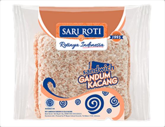 Roti Gandum Sandwich