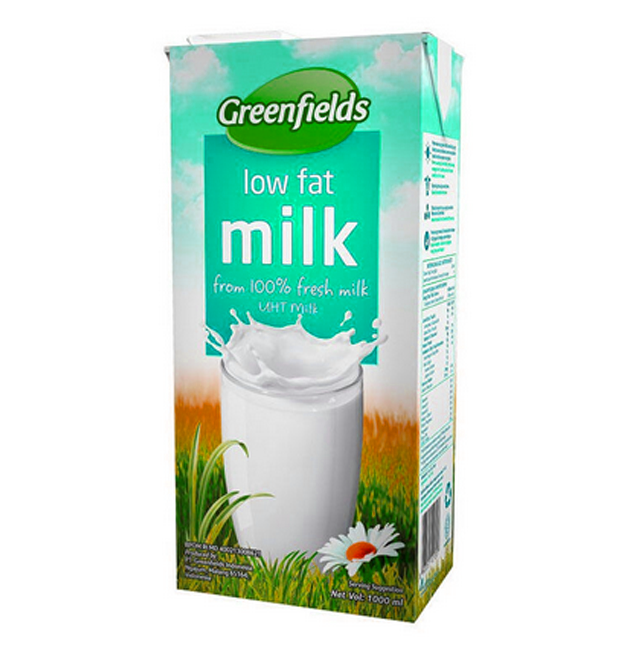 Greenfields UHT Low-Fat