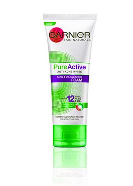Garnier Pure Facial Wajah Kulit Berminyak