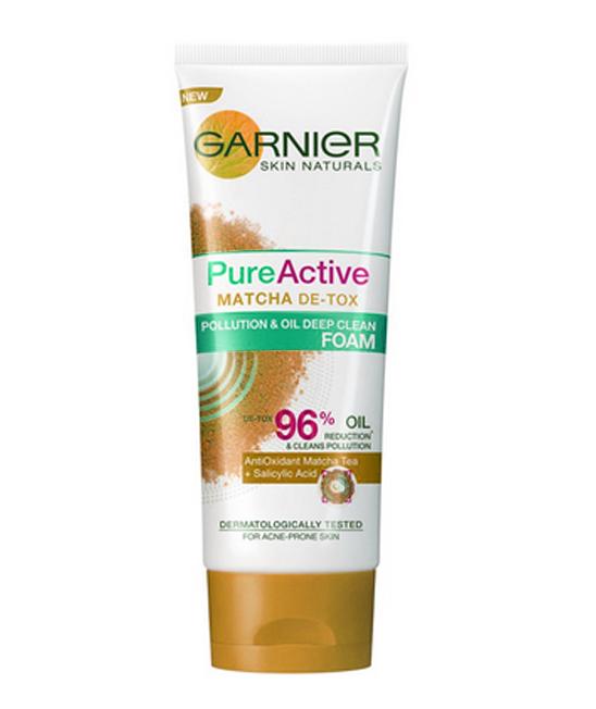 Garnier Pure facial wash untuk kulit berminyak
