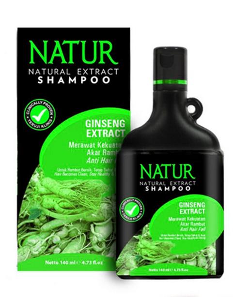 Natural Extract shampo rambut rontok
