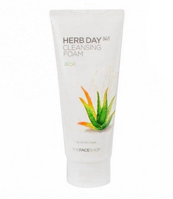 Herb facial foam kulit kering
