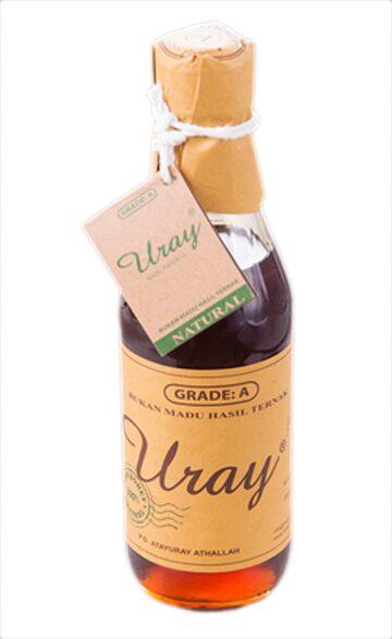 Madu Uray Raw Honey Grade A 330 ml