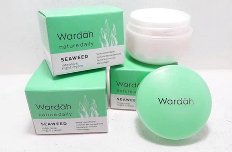 Wardah Essential krim malam terbaik