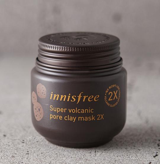 Innisfree Super Volcanic Pore Clay Mask masker komedo terbaik