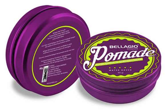 Bellagio Pomade Terbaik High Shine & Strong Hold
