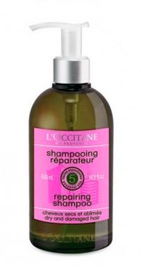 L'OCCITANE-Repairing-Shampo untuk rambut rebonding