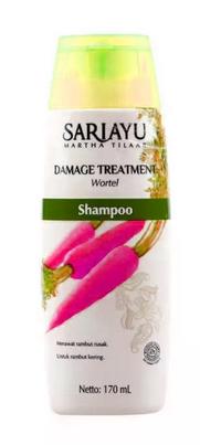 Sariayu-Damage-Treatment-Wortel-Shampo untuk rambut rebonding