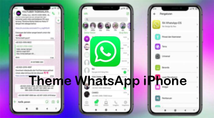 Theme WhatsApp iPhone