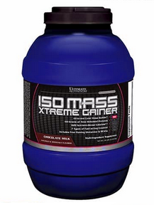 Ultimate Nutrition Iso Mass Xtreme susu Gainer terbaik