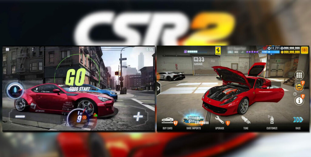 CSR Racing 2 gameplay