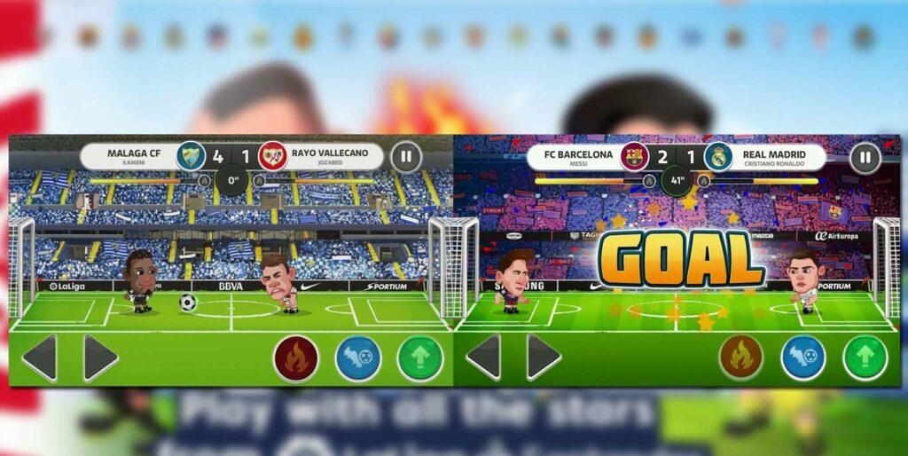 Head Football Laliga gameplay