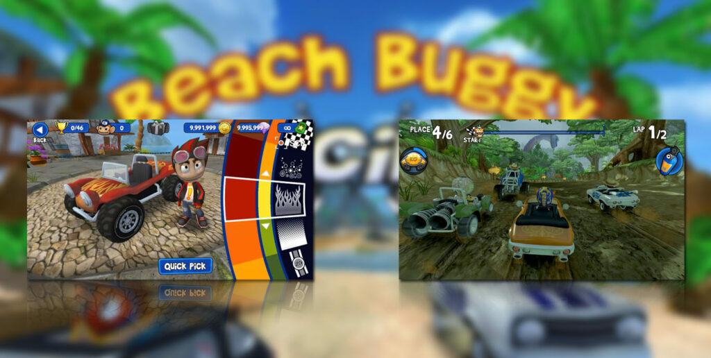 gameplay Beach Buggy Racing