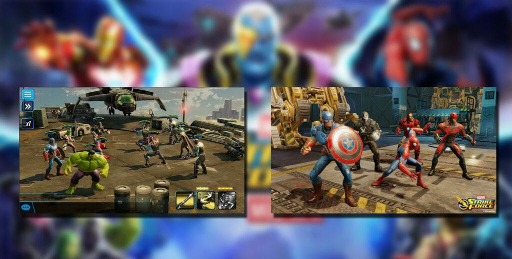 gameplay Marvel Strike Force Mod Apk
