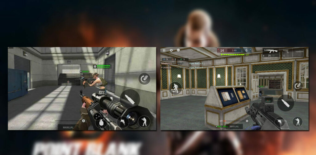 gameplay Point Blank Strike Mod Apk