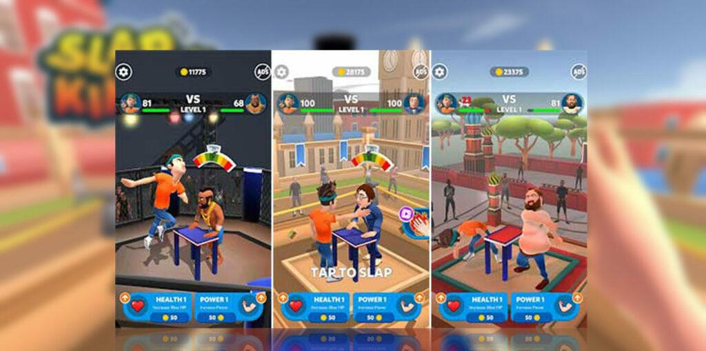 gameplay Slap Kings Mod Apk copy