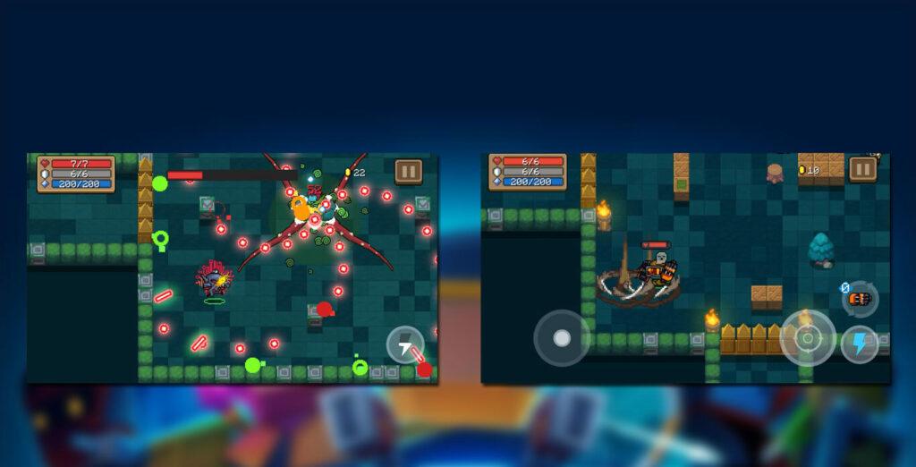 gameplay Soul Knight Mod Apk