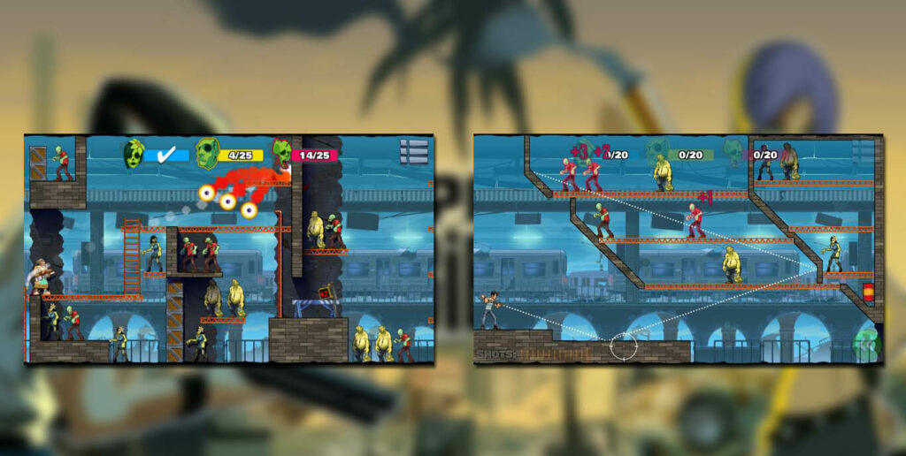 gameplay Stupid Zombies 3 Mod Apk