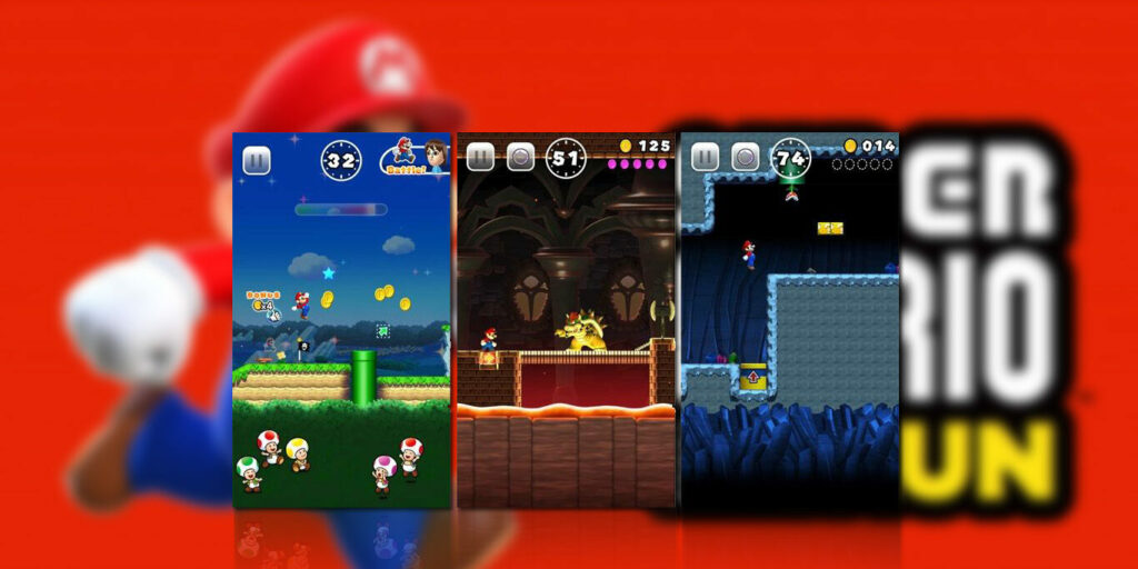 gameplay Super Mario Run