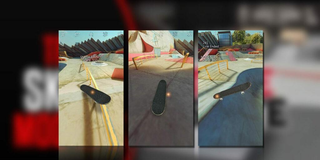 gameplay True Skate Mod Apk
