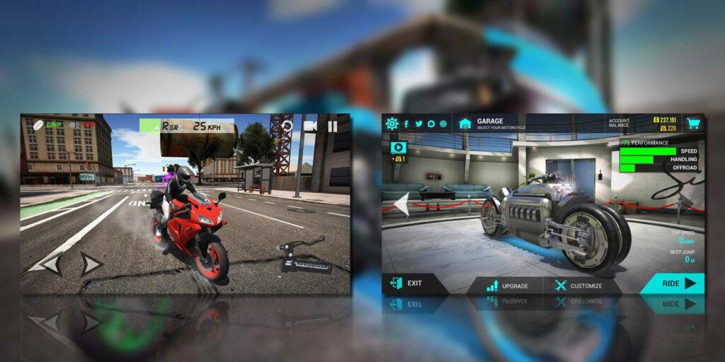 gameplay Ultimate Motorcycle Simulator Mod Apk