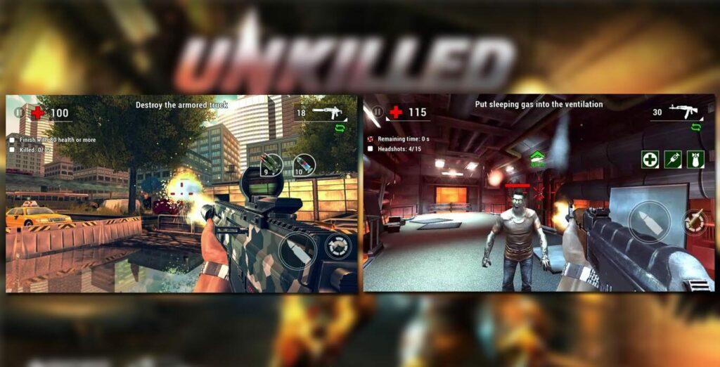 gameplay Unkilled Mod Apk
