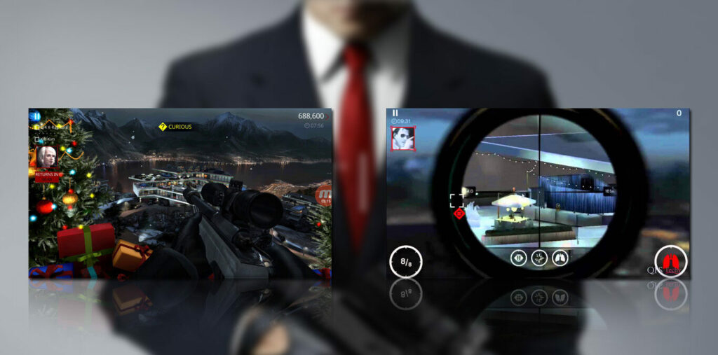 gameplay hitman sniper