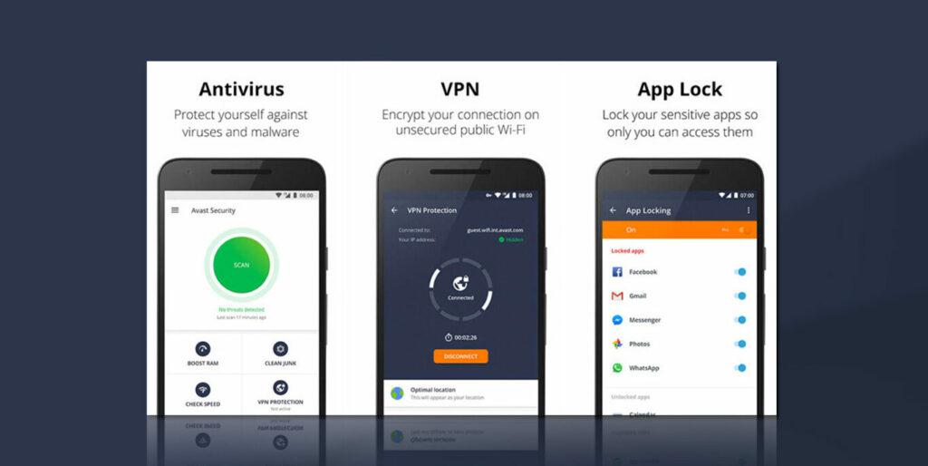 tampilan Avast Antivirus Mod Apk