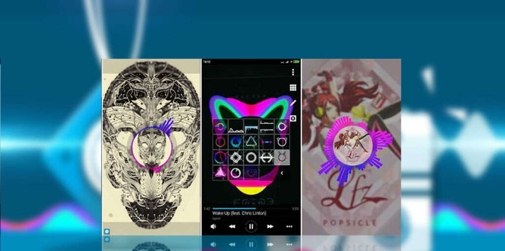 tampilan Avee Music Player Mod Apk
