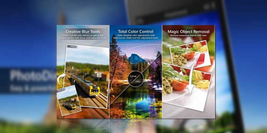 tampilan PhotoDirector Mod Apk
