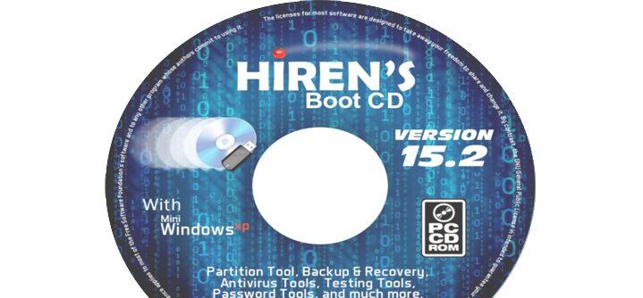 Cara Mengatasi Lupa Password Laptop Gunakan Hiren's Boot CD