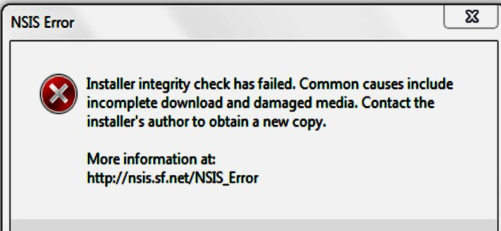 Cara Mengatasi NSIS Error pada Windows 7, 8 dan 10 Dengan Mudah