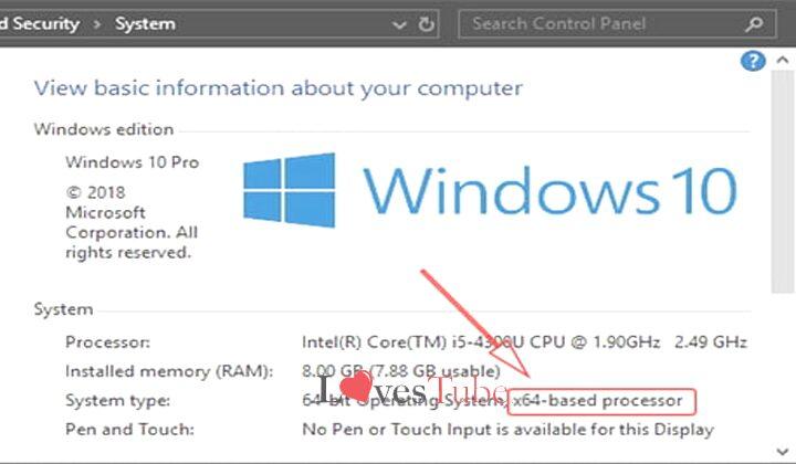 Cara Mengetahui Bit Laptop PC di Windows 7, 8 dan 10