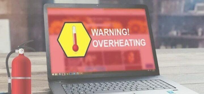Hindari Temperatur yang Terlalu Panas laptop