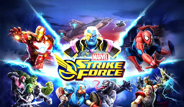 Download Marvel Strike Force Mod Apk (No skill CD) Free Terbaru 2020