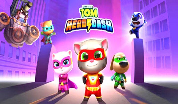 Talking Tom Hero Dash Mod Apk (Unlimited Money) Free Terbaru 2020
