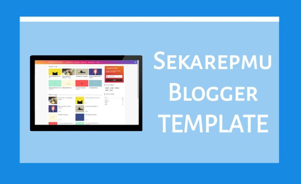 Sakarepmu Blogger Template