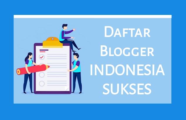 Daftar Blogger Indonesia