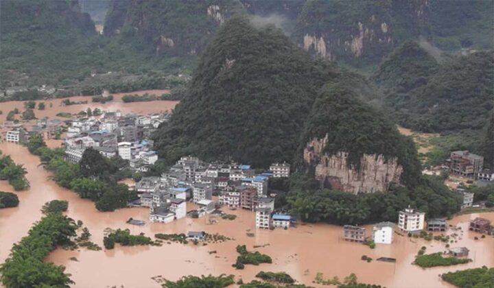 Banjir Besar Melanda Seluruh Kota