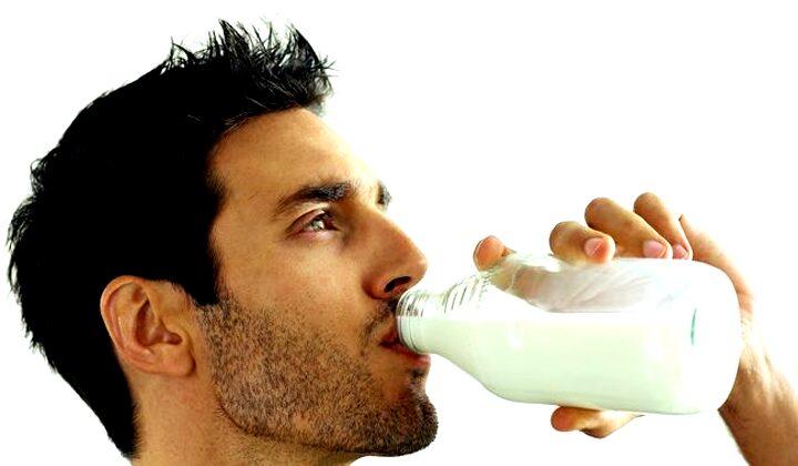 Minum Air Susu