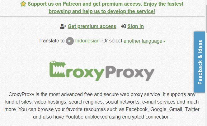 croxy proxy