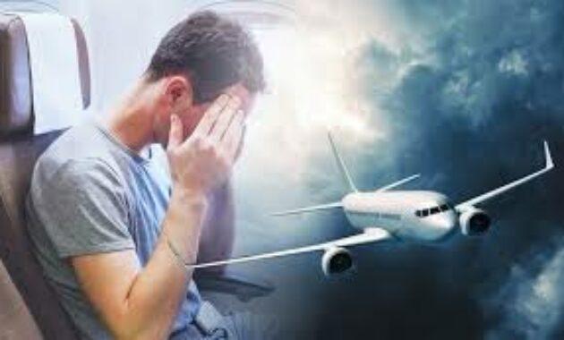 takut pesawat lepas landas